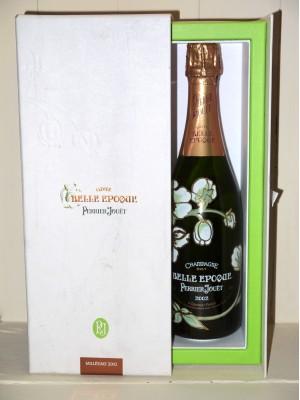 Champagne Brut Belle Epoque 2002 Perrier-Jouët en Coffret
