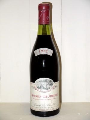 Grands crus Gevrey-Chambertin Charmes-Chambertin 1962 Chevillot