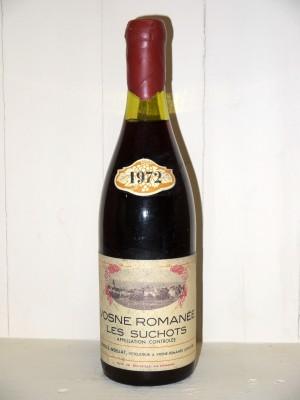"Grands vins Gevrey-Chambertin Vosne Romanée ""Les Suchots"" 1972 Domaine Charles Noellat"