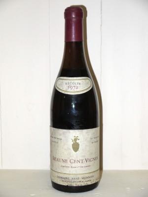 Beaune Cent-Vignes 1972 Domaine René Monnier