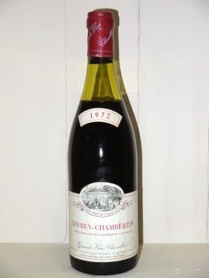 Gevrey-Chambertin 1972 Chevillot