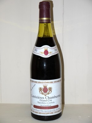 Latricières-Chambertin 1981 Charley Frères