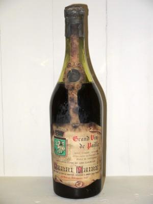 Millesime prestige Jura Vin de Paille Henri Maire Années 1950