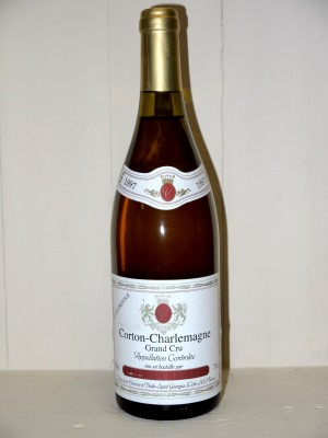 Vins anciens Aloxe Corton Corton-Charlemagne 1997 Charley Frères