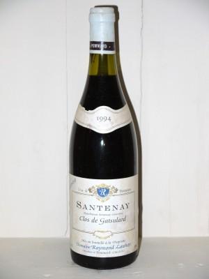 "Santenay ""Clos de Gatsulard"" 1994 Domaine Raymond Launay"