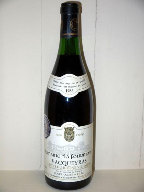 Domaine La Fourmone Vacqueyras 1986