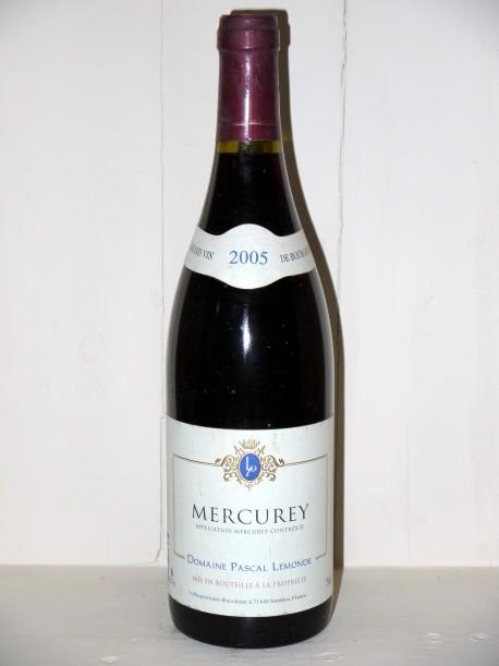 Mercurey 2005 Domaine Pascal Lemonde