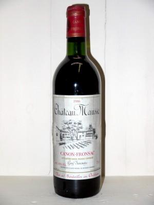 Château Mausse 1986