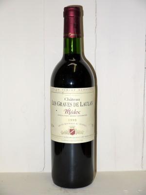 Grands vins Médoc Château Les Graves de Laulan 1999