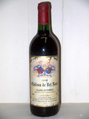 Grands vins Pomerol - Lalande de Pomerol Château de Bel Rose 1993