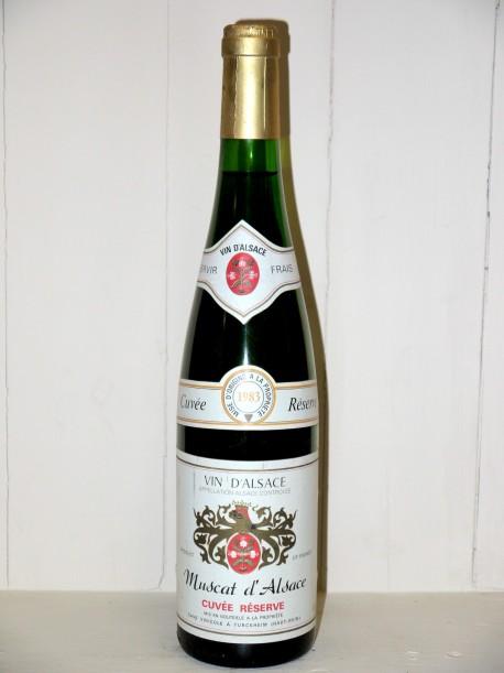 """Muscat d'Alsace 1983 """"Cuvée Réserve"""" Cave Vinicole"""