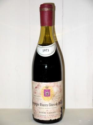 Grands vins Beaune - Savigny-les-Beaune Bourgogne Hautes Côtes de Beaune 1973 Pierre Lanoix