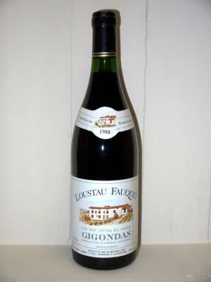 Domaine La Fourmone l'Ousteau Fauquet Gigondas 1988