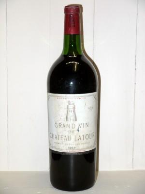 Grands crus Pauillac Magnum Château Latour 1967