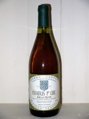 Grands vins Chablis Chablis 1er Cru Beauroy 1995 Cellier du Château de la Chaume