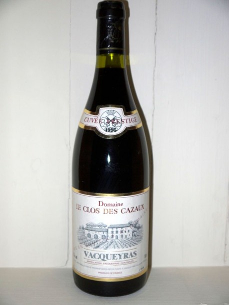 """Domaine Le Clos des cazaux """"cuvée prestige"""" 1995 Vacqueyras"""