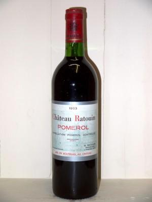 Château Ratouin 1983
