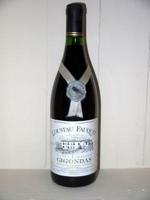 """Domaine La Fourmone l'Ousteau Fauquet """"cuvée cigaloun"""" Gigondas 1990"""