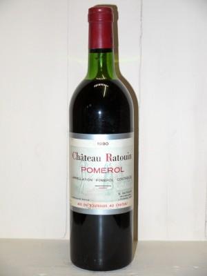 Château Ratouin 1980
