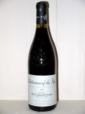 Vins grands crus Châteauneuf du Pape Chateauneuf du Pape 1999 Domaine M.Chapoutier