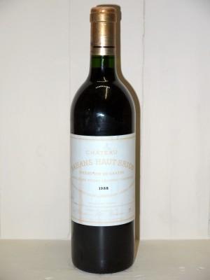 Grands vins Saint-Estèphe Château Bahans Haut-Brion 1988