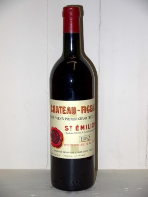 Grands crus Saint-Julien Château Figeac 1982