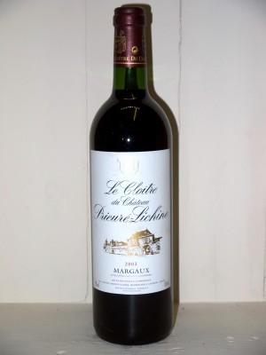 Le Cloitre du Château Prieuré-Lichine 2003