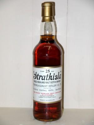 Spiritueux de prestige Strathisla 25ans d'âge Gordon & Macphail en coffret