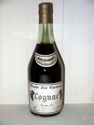 Grands crus Étranger Grande fine champagne 1er cru P. Landreau présumée années 70