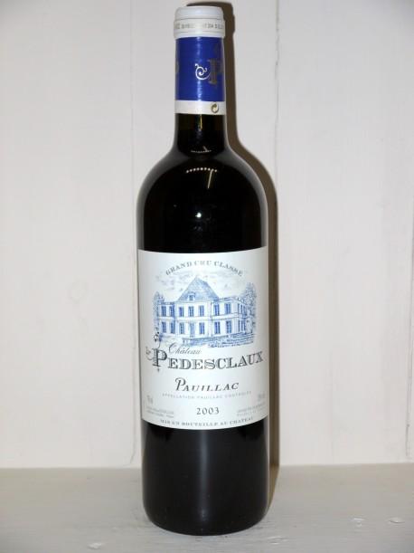 Château Pédesclaux 2003