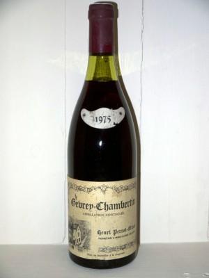 Gevrey-Chambertin 1975 Domaine Henri Perrot-Minot