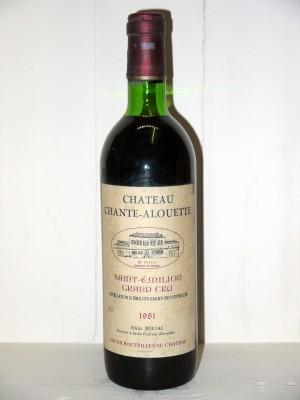 Château Chante-Alouette 1981