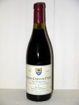 "Aloxe-Corton 1er Cru ""Les Vercots"" 2003 Domaine Follin-Arbelet"