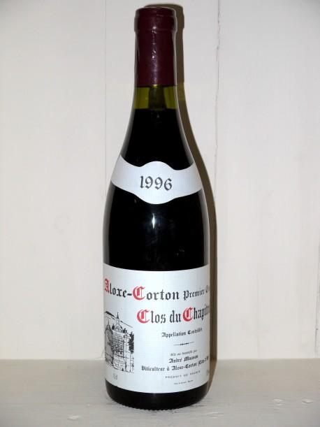 """Aloxe-Corton 1er Cru """"Clos du Chapitre"""" 1996 Domaine André Masson"""