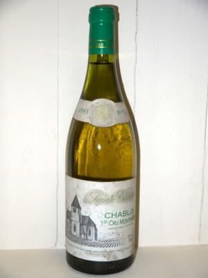 Sainte Claire Chablis 1er cru Montmains 1993 Domaine Jean Marc Brocard