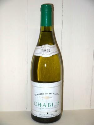 Vins anciens Chablis Domaine des manants Chablis 1992 Domaine Jean Marc brocard