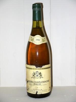 Corton-Charlemagne 1984 les caves de la Tour Blondeau