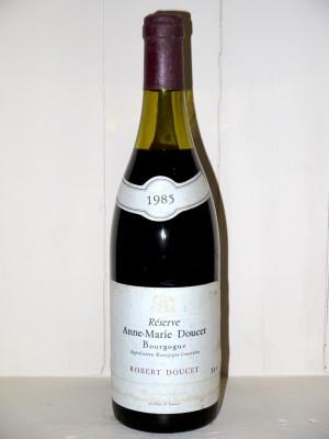"""Vins anciens Autres appellations de Bourgogne Bourgogne """"Réserve Anne-Marie Doucet"""" 1985 Maison Robert Doucet"""