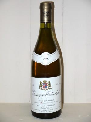 """Grands crus Chassagne-Montrachet - Puligny-Montrachet Chassagne-Montrachet 1er Cru """"Les Baudines"""" 1990 Domaine Jouard Gabriel"""