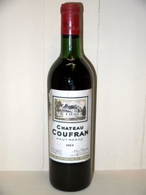Grands vins Pauillac Château Coufran 1964