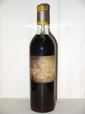 Vins grands crus Sauternes - Barsac - Loupiac Château d'Yquem 1963