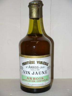 Vins anciens Jura Vin Jaune 1979 Fruitière Vinicole d'Arbois