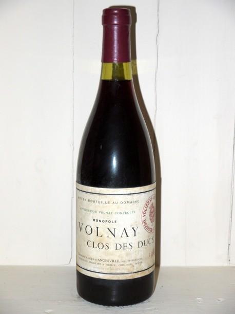 Volnay Clos Des Ducs 1982 Domaine Marquis  d'Angerville