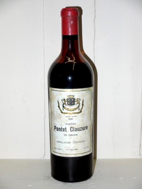 Château Pontet-Clauzure 1959