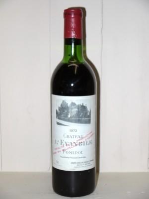 Vins anciens Pomerol - Lalande de Pomerol Château L'Evangile 1973