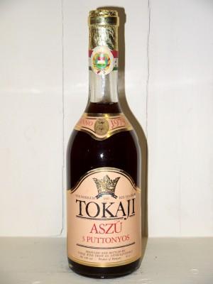 Grands vins Hongrie Tokaji Aszú 3 Puttonyos 1979 Tokaji Wine Trust