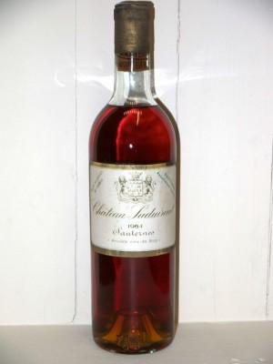 Grands vins Loire Château Suduiraut 1964