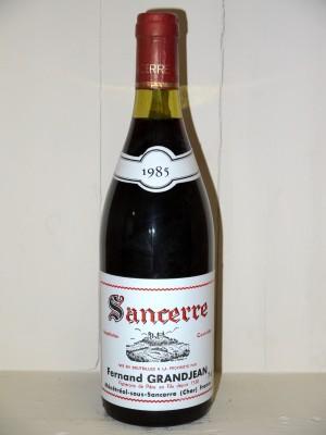 Vins grands crus Loire Sancerre 1985 Fernand Grandjean