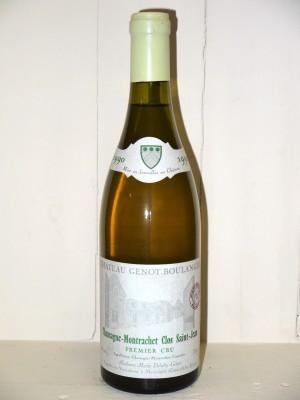 Chassagne-Montrachet 1990 Clos Saint Jean Château Genot-Boulanger