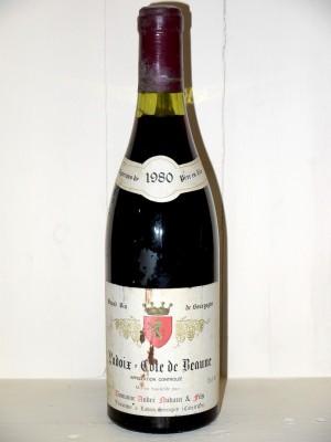 Ladoix Côte de Beaune 1980 Domaine Nudant